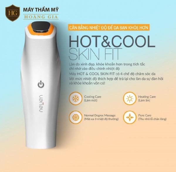 Máy massage mặt nóng lạnh Vanav Hot & Cool Skin Fit