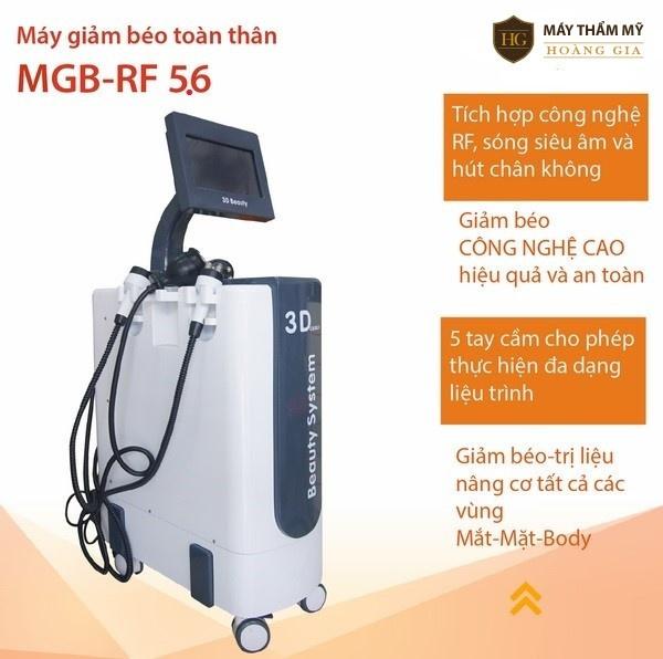 Máy giảm béo toàn thân MGB-RF 5.6