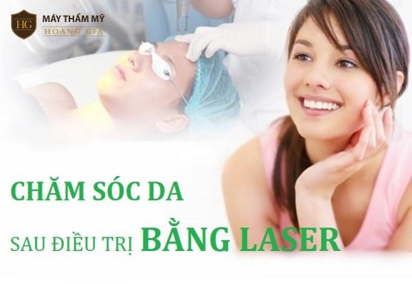 Cách chăm sóc da sau điều trị nám bằng laser